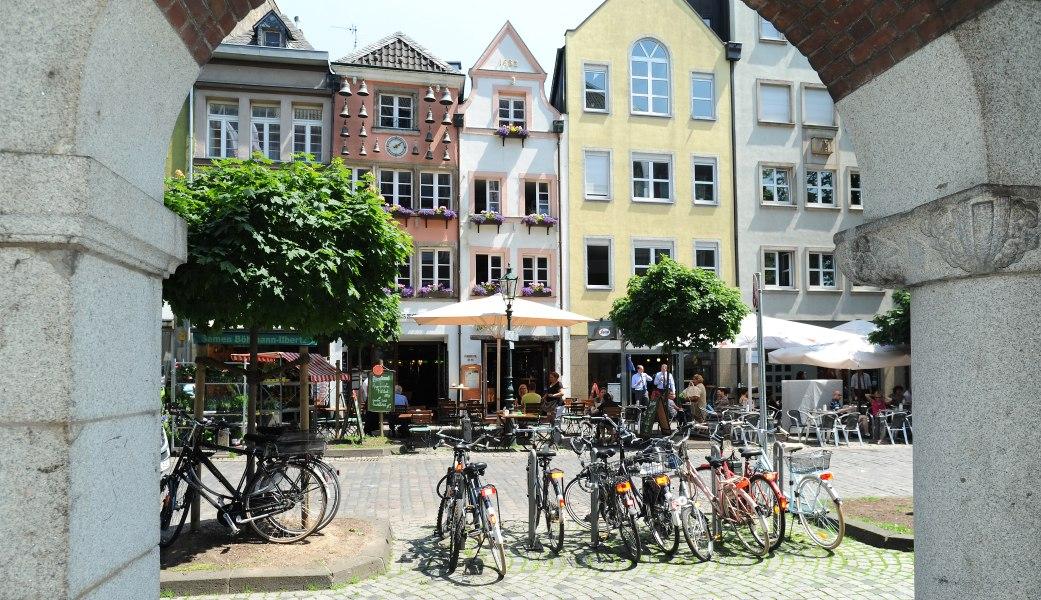 Altstadt, © Copyright/Düsseldorf Tourismus GmbH