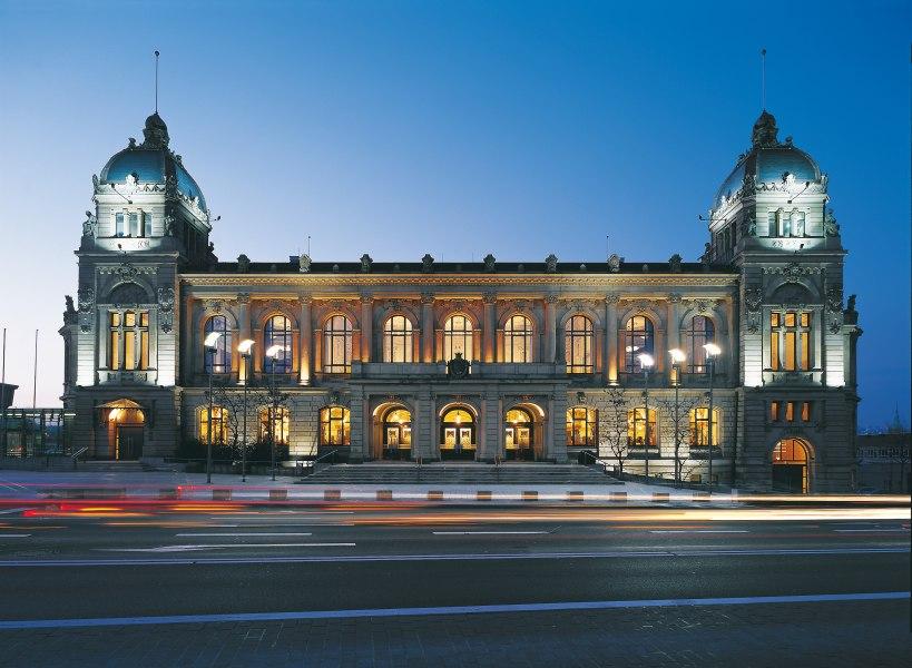 Exterior view, © Copyright/Historische Stadthalle Wuppertal GmbH