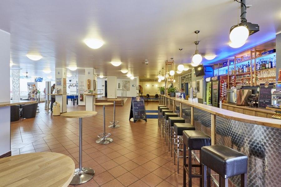 Lobby, © Copyright/a&o Düsseldorf Hauptbahnhof