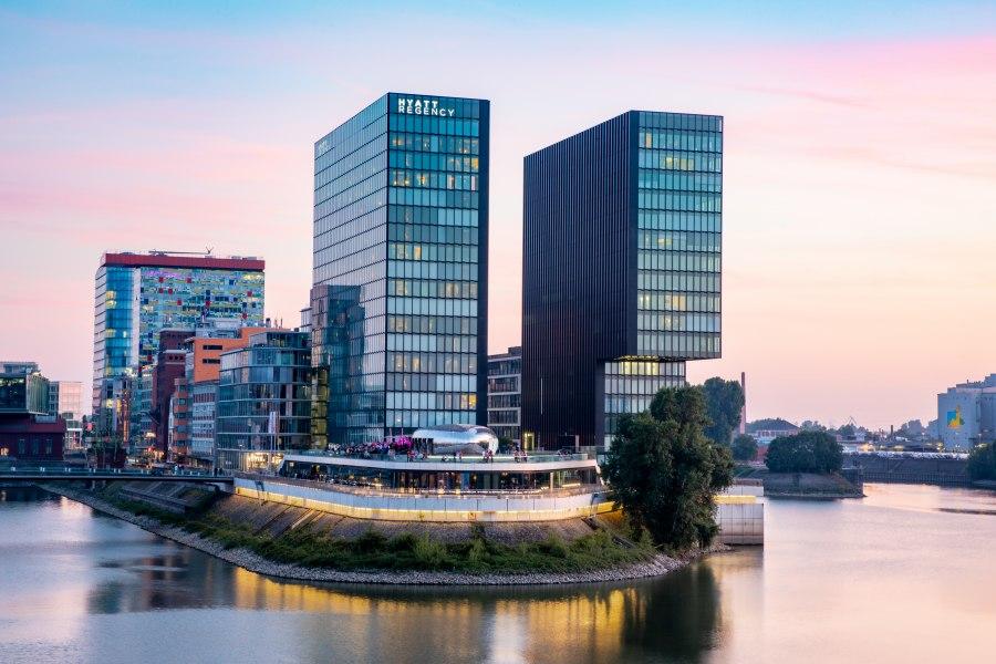 Außenansicht, © Copyright/Hyatt Regency Düsseldorf
