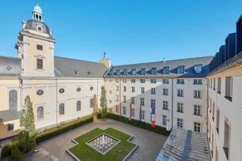 Innenhof, © Copyright/Living Hotel De Medici GmbH