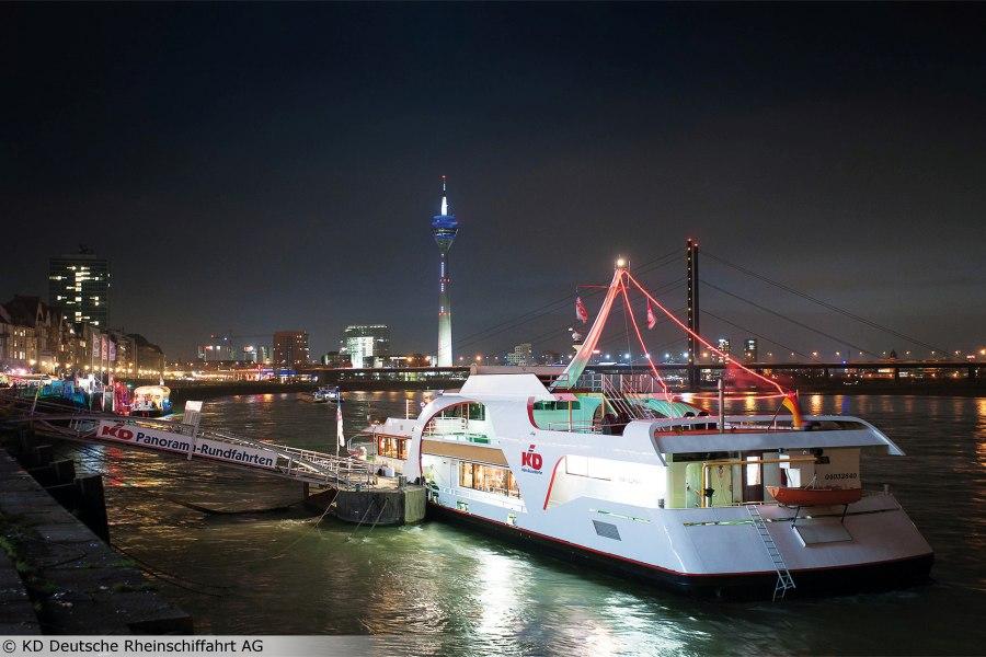 Panoramaschiffstouren mit der KD, © Copyright/KD Deutsche Rheinschifffahrt AG