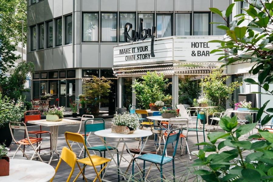 Terrace, © Copyright/Ruby Leni Hotel Dusseldorf