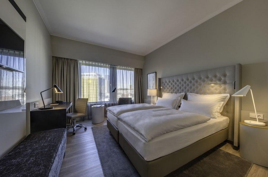 """Hotelzimmer """"Superior"""", © Copyright/Hotel Nikko Düsseldorf"""