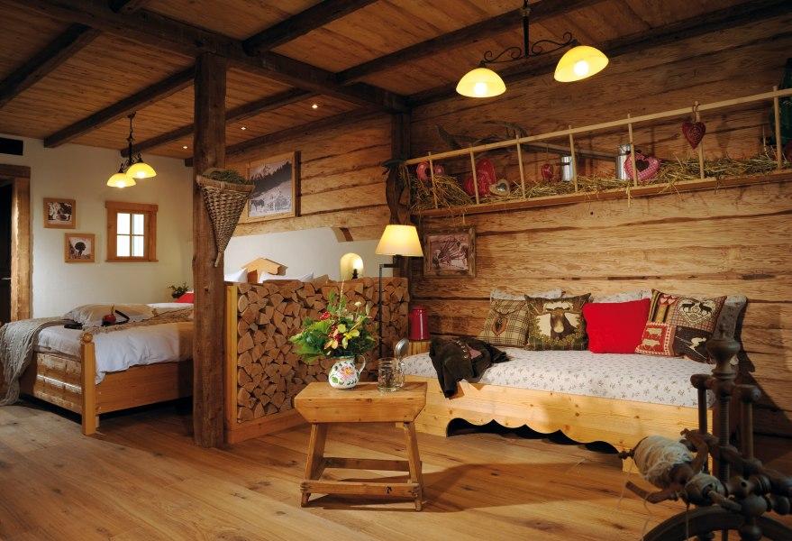 "Guestroom ""Alpenglühen"", © @ Copyright/Hotel Fire & Ice im Alpenpark Neuss"