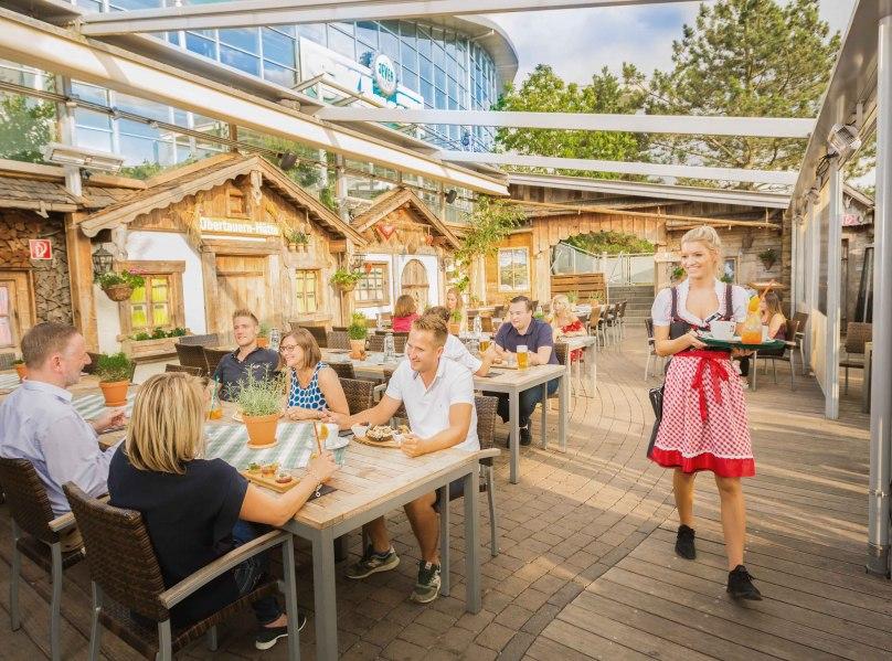 Beer garden, © @ Copyright/Hotel Fire & Ice im Alpenpark Neuss