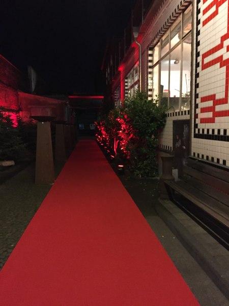 Roter Teppich Eingang, © Copyright/HPZ