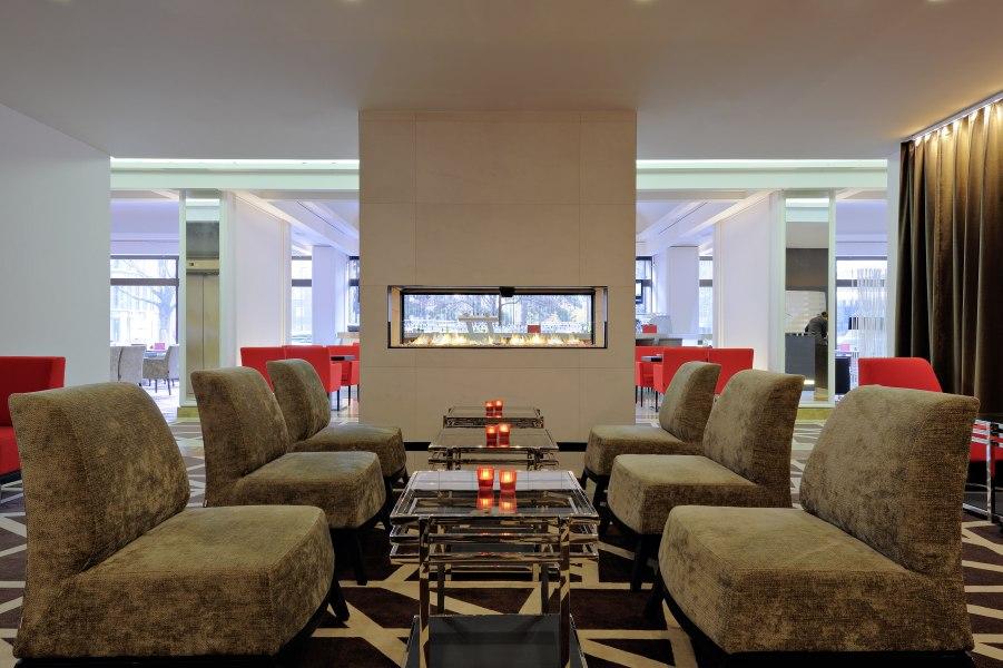 Lounge, © Copyright/Radisson Blu Scandinavia Hotel Düsseldorf