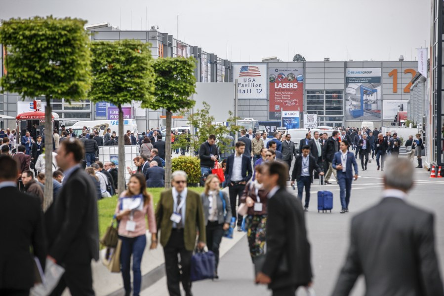 Trade fair visitors, © Copyright/Messe Düsseldorf
