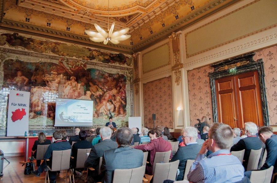 Kongress  Majolika Saal, © Copyright/Historische Stadthalle Wuppertal GmbH