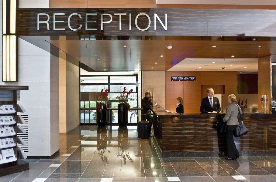 Rezeption, © Copyright/Maritim Hotel Düsseldorf