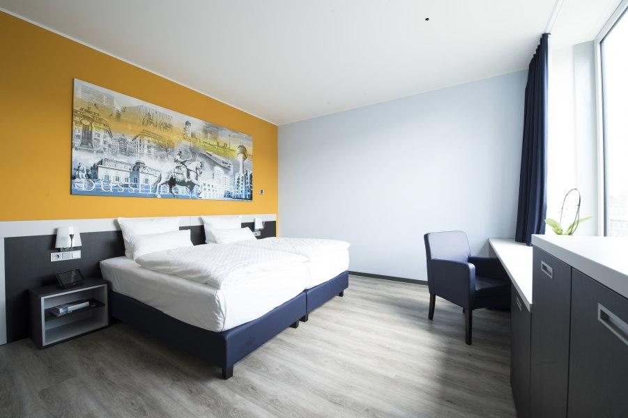 Double room, © Copypright/carathotel Düsseldorf City