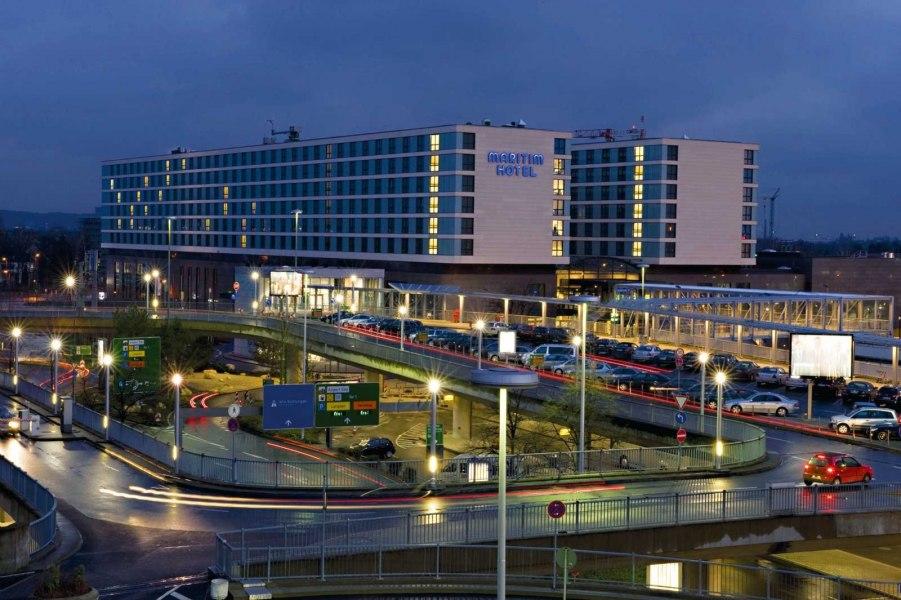Außenansicht, © Copyright/Maritim Hotel Düsseldorf
