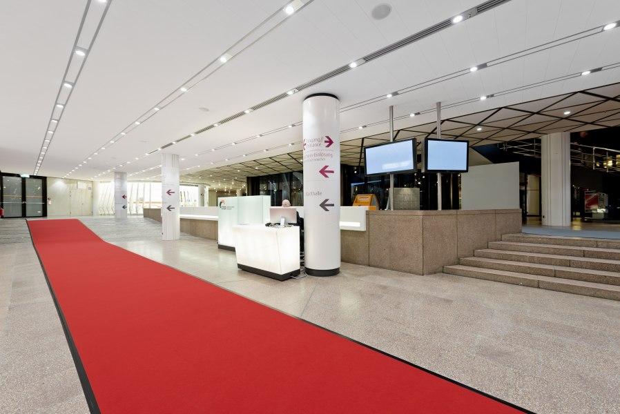 Foyer CCD Süd, © Copyright/CCD Congress Center Düsseldorf