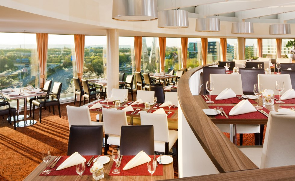 Restaurant, © Copyright/Sheraton Düsseldorf Airport Hotel