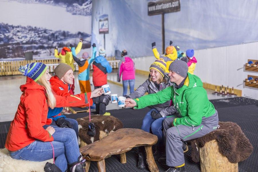 Eisstockschießen, © Copyright/Alpenpark Neuss