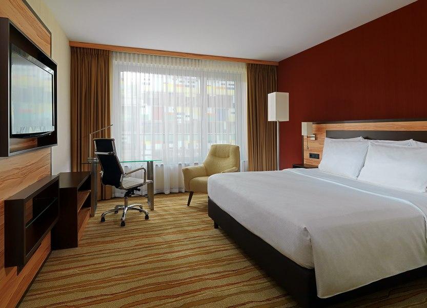 Hotelzimmer, © Copyright/Courtyard by Marriott Düsseldorf Hafen