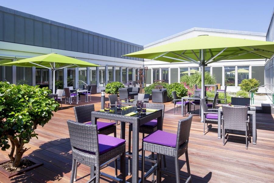 Terrasse, © Copyright/Sheraton Düsseldorf Airport Hotel