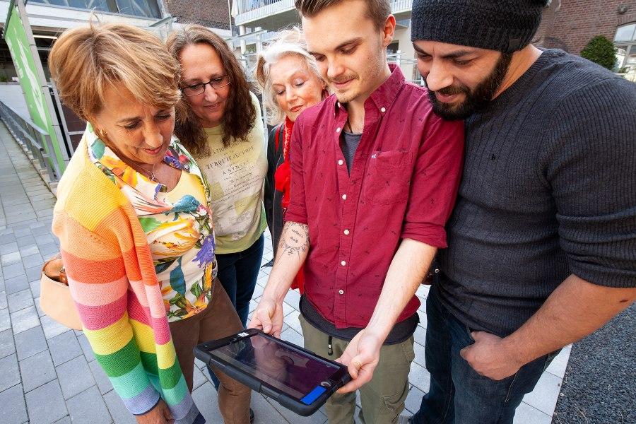 iPad-Rallye, © Copyright/Stadthelden